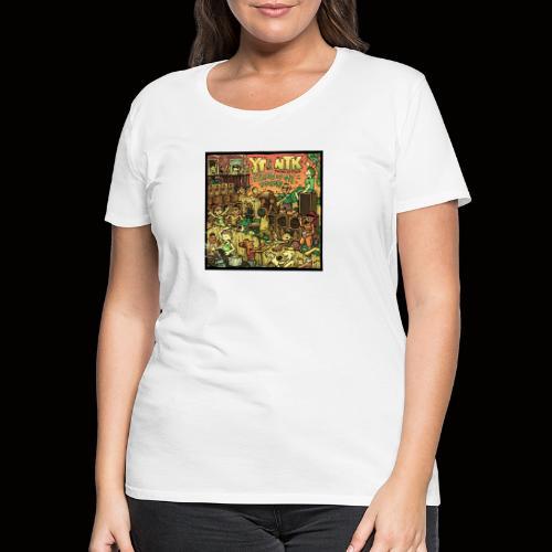 String Up My Sound Artwork - Women's Premium T-Shirt