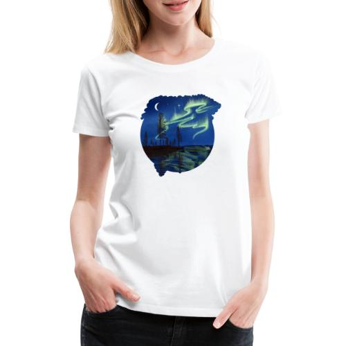 Reflet des aurores boréales - lapland8seasons - T-shirt Premium Femme