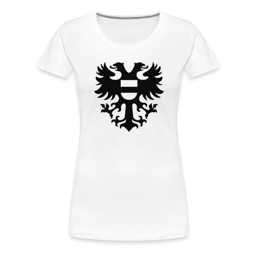 stadswapen groningen mono - Vrouwen Premium T-shirt