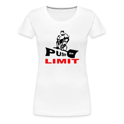 PUSH the LIMITgif.gif - T-shirt Premium Femme