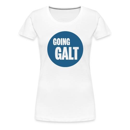 GoingGaltButton png - Frauen Premium T-Shirt
