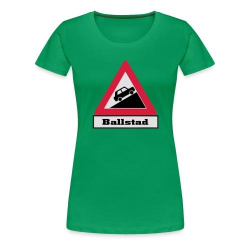 brattv ballstad a png - Premium T-skjorte for kvinner