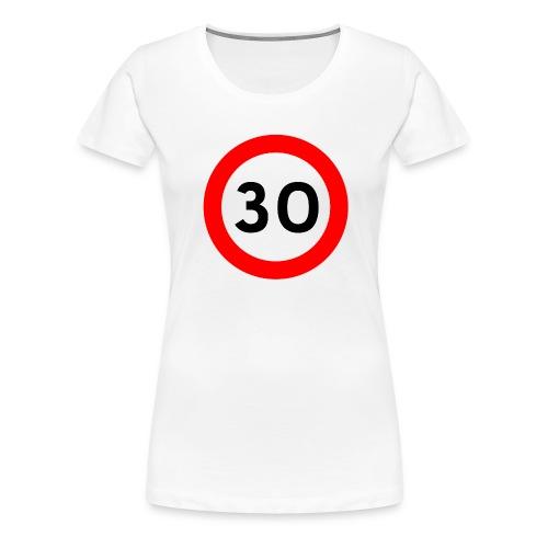 30 bord png - Vrouwen Premium T-shirt