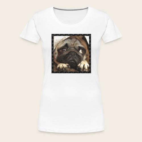 Mops Hund 1 - Frauen Premium T-Shirt
