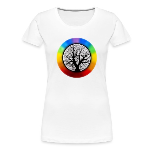 tree of life png - Vrouwen Premium T-shirt