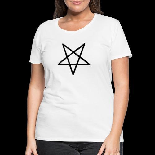 Pentagram2 png - Frauen Premium T-Shirt