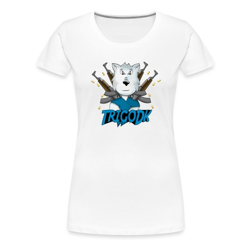 Ulven png - Dame premium T-shirt
