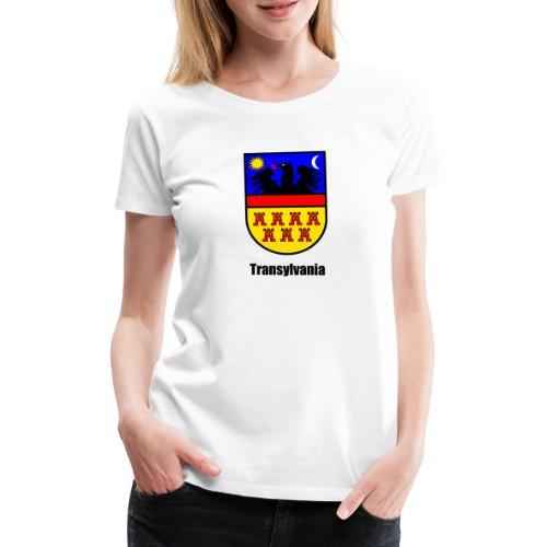 Siebenbürgen-Wappen Transylvania - Frauen Premium T-Shirt