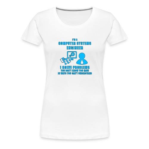 Computer System Engineer - Maglietta Premium da donna