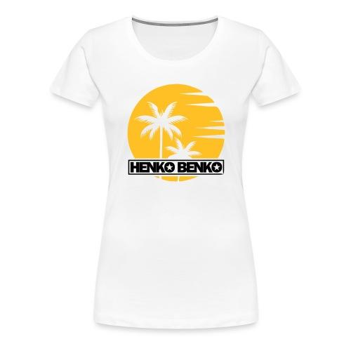 HenkoBenko_Logo_Summer201 - Premium-T-shirt dam