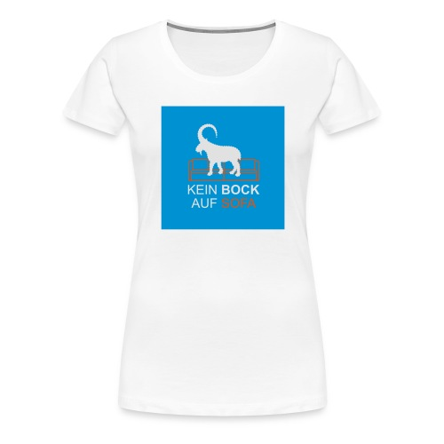 BOCK BUTTON - Frauen Premium T-Shirt