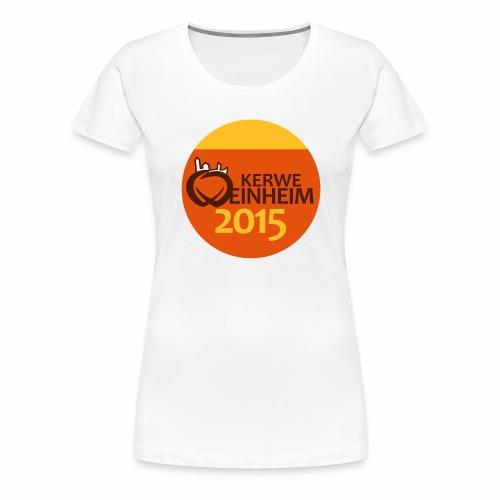 Kerwe Shirt 2015 - Frauen Premium T-Shirt