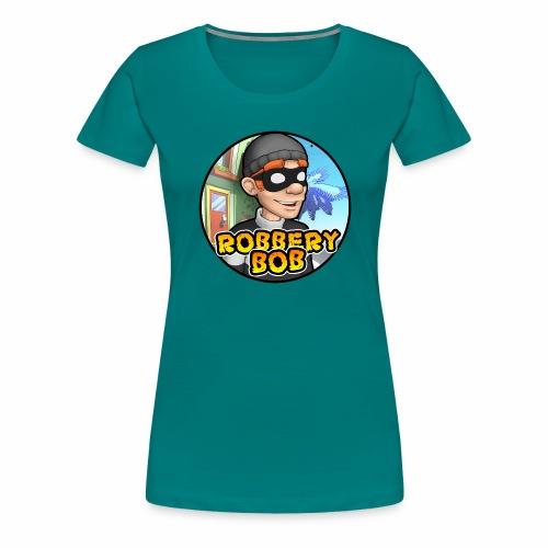 Robbery Bob Button - Women's Premium T-Shirt