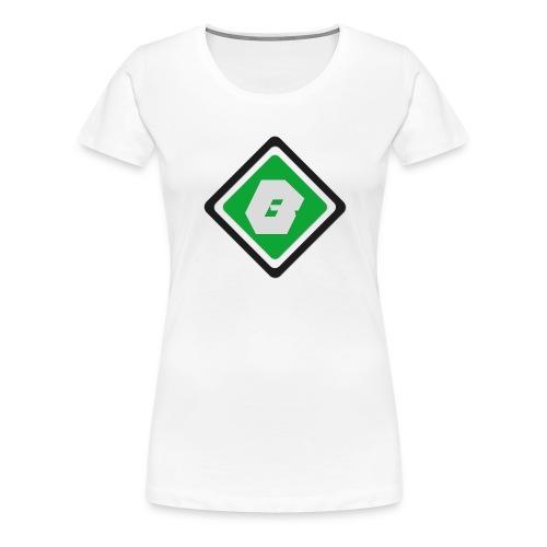 Bro'casters   Logo - T-shirt Premium Femme