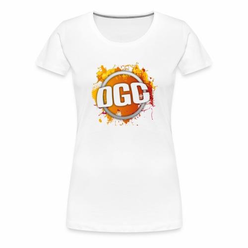 Merchlogo mega png - Vrouwen Premium T-shirt