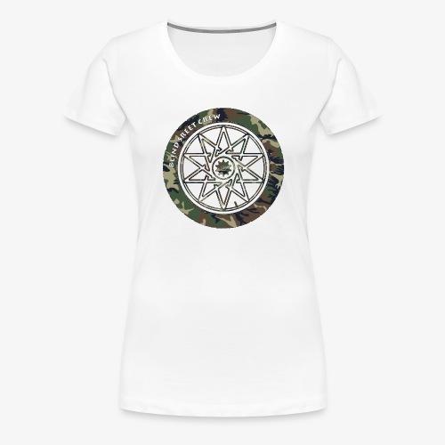 BSC F- Sign Camo II - Maglietta Premium da donna
