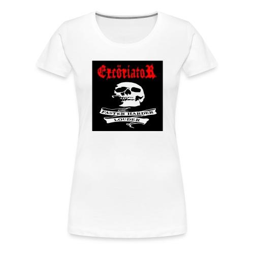 ExcöriatoR-Faster Harder Louder T-shirt - Premium-T-shirt dam
