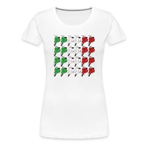 Italian_flag-png - Maglietta Premium da donna
