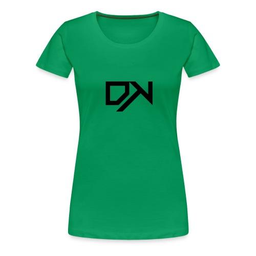 DewKee Logo T-Shirt Black - Women's Premium T-Shirt