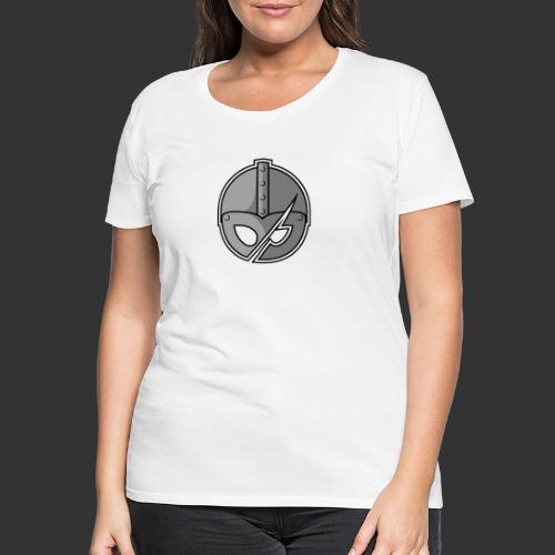Slashed Helmet - Women's Premium T-Shirt