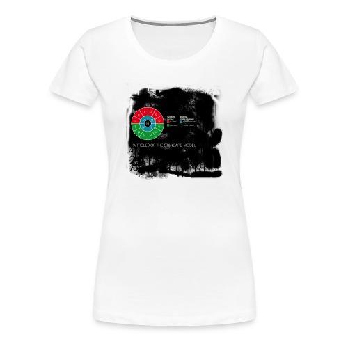 particlesmad-png - Camiseta premium mujer