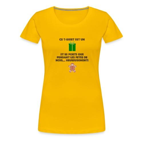 T-shirt cadeau de Noël - T-shirt Premium Femme