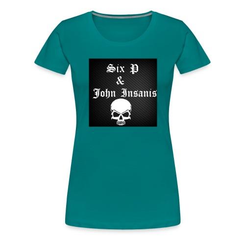 Six P & John Insanis SKULL Paita - Naisten premium t-paita