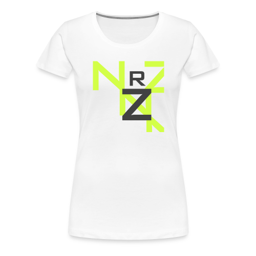 Nörthstat Group™ Clear Transparent Main Logo - Women's Premium T-Shirt