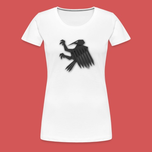Nörthstat Group ™ Black Alaeagle - Women's Premium T-Shirt
