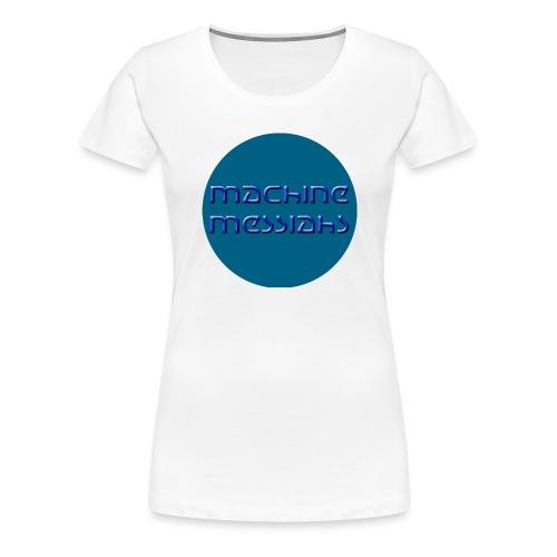 mm - button - Women's Premium T-Shirt