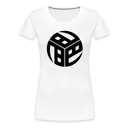 Mitsudomoe Symbol (stylisiert) - Frauen Premium T-Shirt