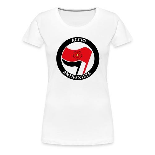 Acció Antifa - Camiseta premium mujer