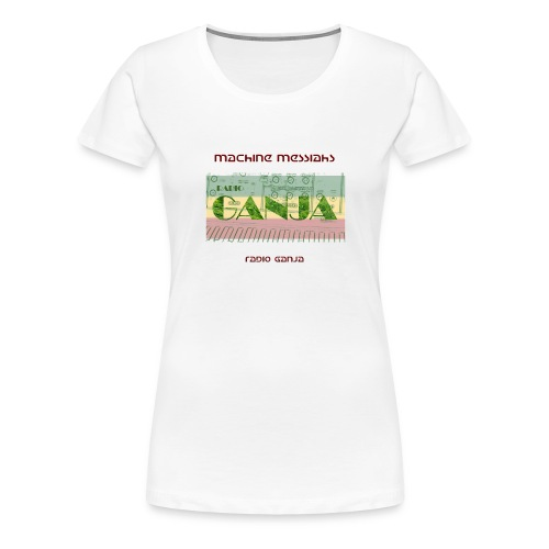 radio ganja - Women's Premium T-Shirt
