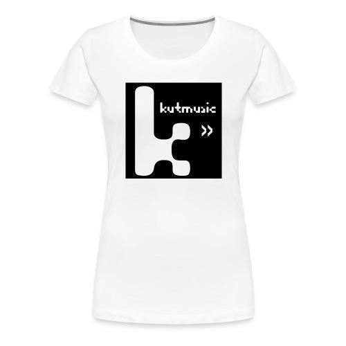 Kutmusic black - Maglietta Premium da donna