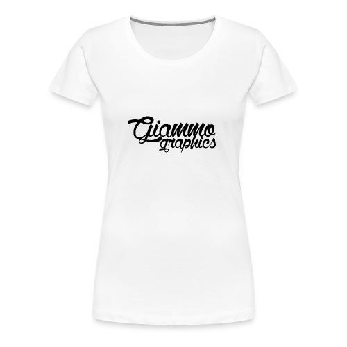 Maglietta GiammoGraphics #1 - Maglietta Premium da donna