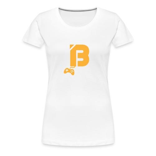 BOOYAH T-Shirt Oranje Logo - Vrouwen Premium T-shirt