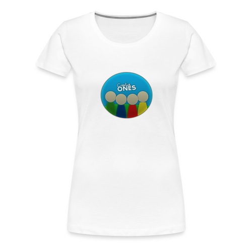 Creative Ones Logo - Women's Premium T-Shirt
