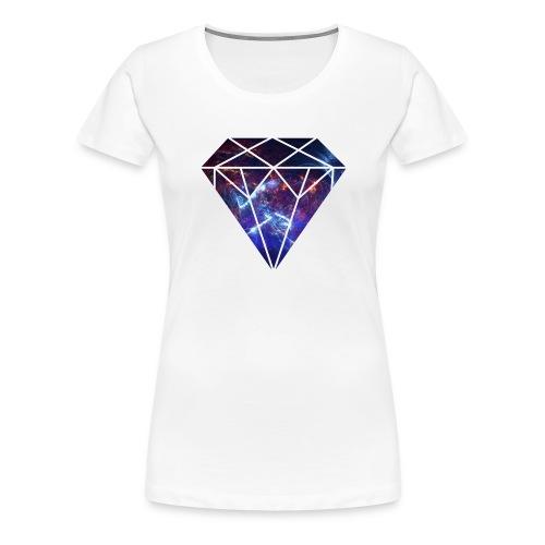 Space Diamond Nebula - Women's Premium T-Shirt