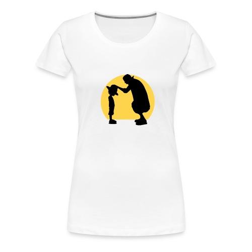 one_piece_luffy_-_shanks-01-png - Camiseta premium mujer
