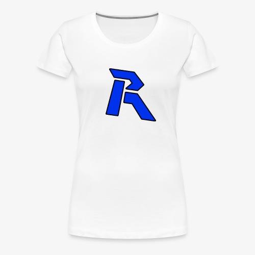 Rainkz Langarm Logo M - Frauen Premium T-Shirt