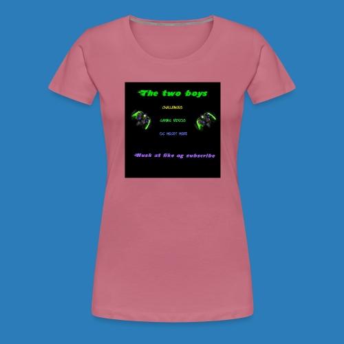 LUISJAKUBINTRO-jpg - Dame premium T-shirt