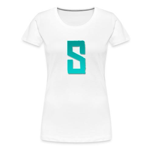 Sibren shirt zwart (Tiener) - Women's Premium T-Shirt