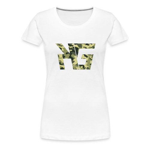 KG Forest Camo - Women's Premium T-Shirt