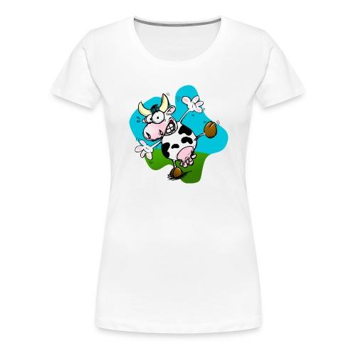 Mucca - Maglietta Premium da donna