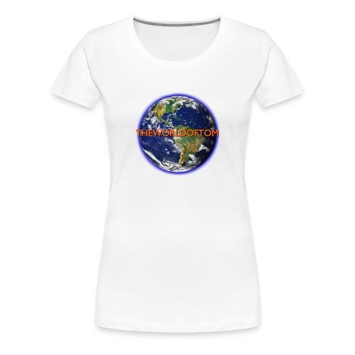 TheWorldOfTom Official T-Shirt - Women's Premium T-Shirt