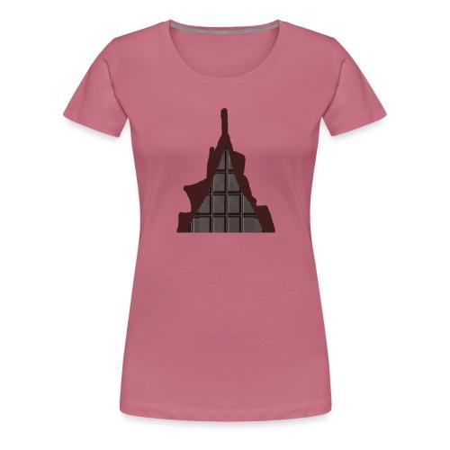 Vraiment, tablette de chocolat ! - T-shirt Premium Femme