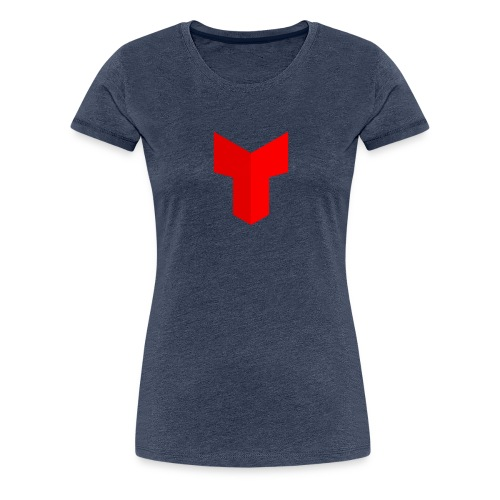 redcross-png - Vrouwen Premium T-shirt