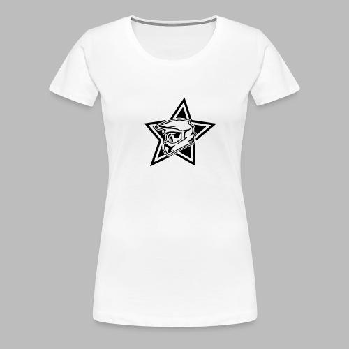 Motocross Helm - Frauen Premium T-Shirt