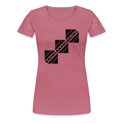 BRAWL TEST - Vrouwen Premium T-shirt