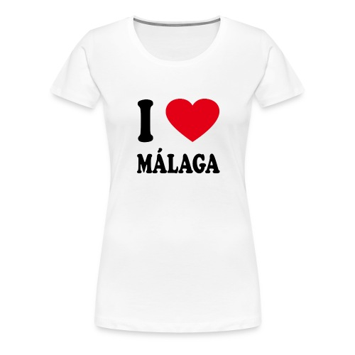 I love Malaga - Frauen Premium T-Shirt